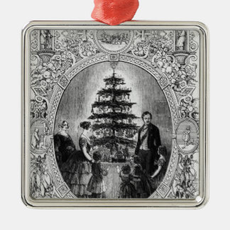 Christmas Tree at Windsor Castle, 1848 Christmas Ornament