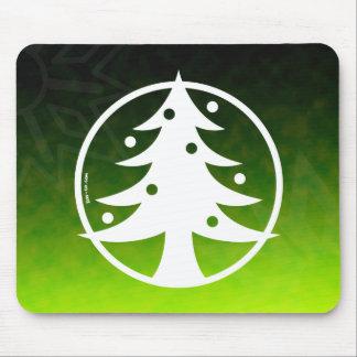 Christmas Tree Avatar Mouse Pad