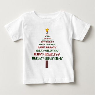Christmas Tree Baby Clothes Baby T-Shirt