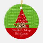 Christmas Tree Baby Twins First Christmas Ornament