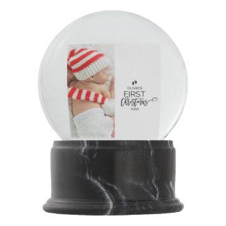 Baby First Snow Globes | Zazzle