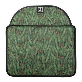 Christmas Tree Background MacBook Pro Sleeves