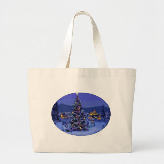 Christmas Tree Canvas Bags