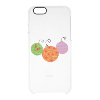 Christmas tree balls - Happy Holidays Clear iPhone 6/6S Case