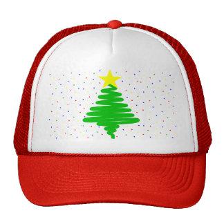 Christmas Tree Baseball Cap Trucker Hat