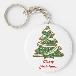 Christmas Tree Basic Keychain