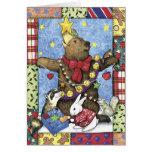 Christmas Tree Bear Card