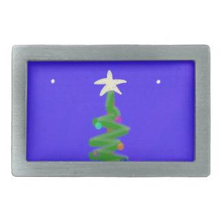 Christmas Tree Belt Buckle