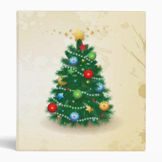Christmas tree, binder