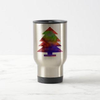Christmas Tree - Blue/Red/Green Coffee Mug