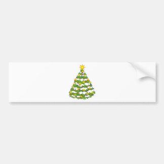 christmas tree bumper stickers