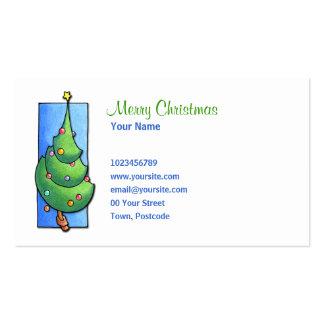 Christmas Tree Business Card