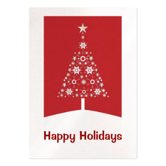 Christmas Tree Business Cards