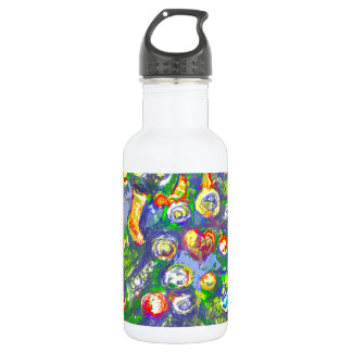 *Christmas tree by Albruno* 18oz Water Bottle