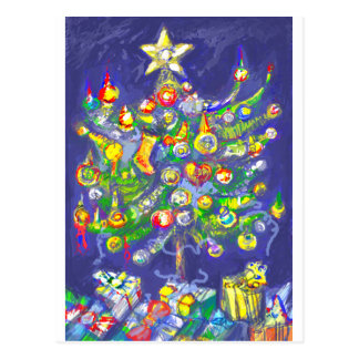 *Christmas tree by Albruno* Post Card