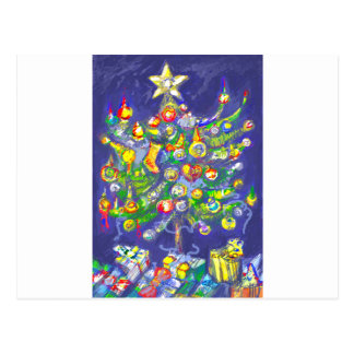 *Christmas tree by Albruno* Postcard