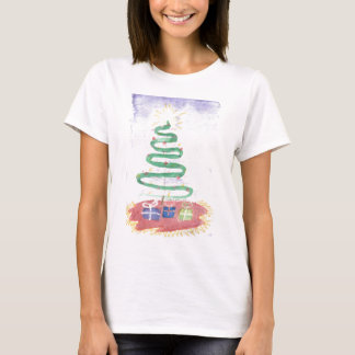 Christmas Tree by Wendy C. Allen T-Shirt
