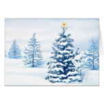 Christmas tree card 3