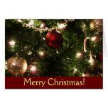 Christmas Tree Card (Blank Inside)