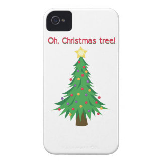 Christmas Tree iPhone 4 Cover