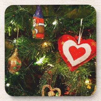 Christmas Tree Celebration Christmas Decoration Beverage Coaster