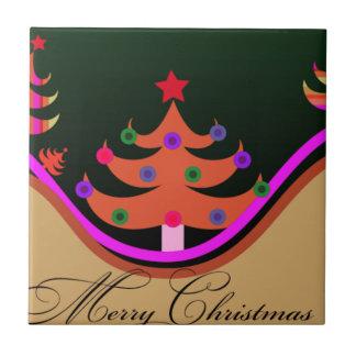 Christmas Tree Ceramic Tile