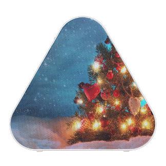 Christmas tree - Christmas decorations -Snowflakes Bluetooth Speaker