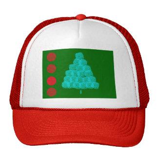 Christmas Tree Christmas Ornament Contemporary Trucker Hat