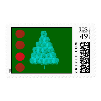 Christmas Tree Christmas Ornament Contemporary Postage Stamp