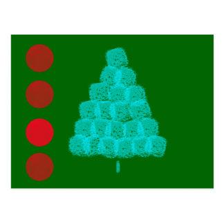 Christmas Tree Christmas Ornament Contemporary Post Card