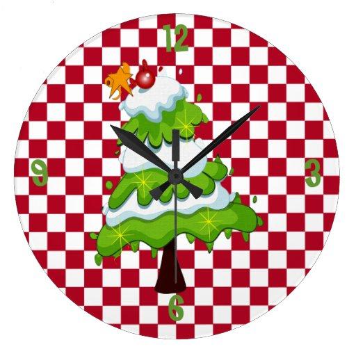 Christmas Tree Clocks