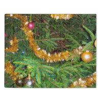 Christmas Tree Closeup Jigsaw Puzzle