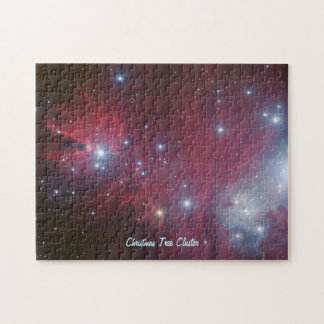 Christmas Tree Cluster and Cone Nebula, NGC 2264 Jigsaw Puzzle
