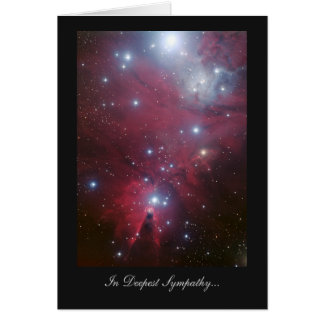 Christmas Tree Cluster - In Deepest Sympathy Greeting Card