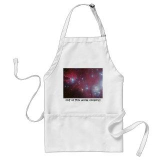 Christmas Tree Cluster - NGC 2264 Adult Apron