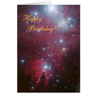 Christmas Tree Cluster - NGC 2264 Greeting Card