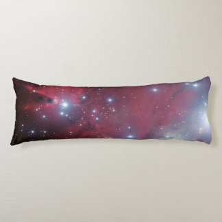 Christmas Tree Cluster NGC 2264 outer space image Body Pillow