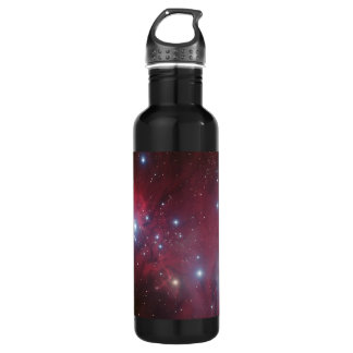 Christmas Tree Cluster - NGC 2264 Stainless Steel Water Bottle