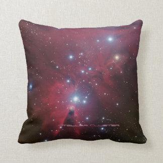 Christmas Tree Cluster - NGC 2264 Throw Pillow
