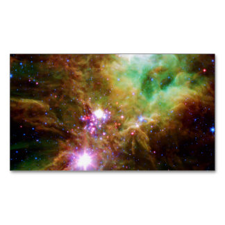 Christmas Tree Cluster (outer space) ~.jpg Magnetic Business Cards (Pack Of 25)