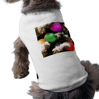 Christmas Tree Colorful Holiday Ornaments Shirt