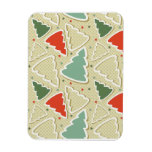 Christmas Tree Cookies Rectangle Magnets