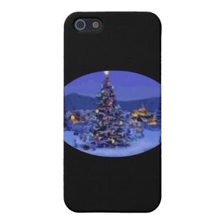 Christmas Tree Covers For iPhone 5