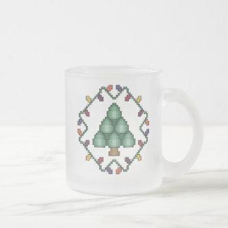 Christmas Tree Cross Stitch Mug