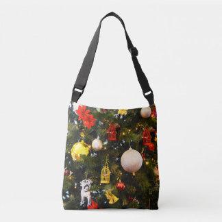 Christmas tree crossbody bag