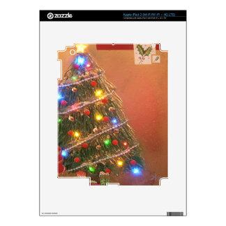 christmas tree decal for iPad 3