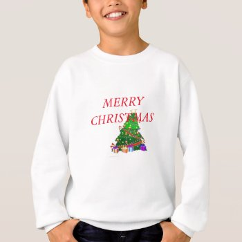 Christmas Tree Decor Wear Sweatshirt by creativeconceptss at Zazzle