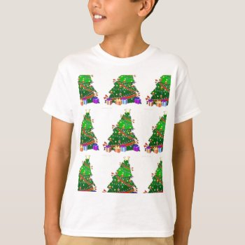 Christmas Tree Decor Wear T-shirt by creativeconceptss at Zazzle