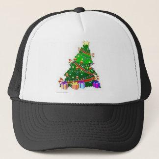 CHRISTMAS TREE DECOR WEAR TRUCKER HAT