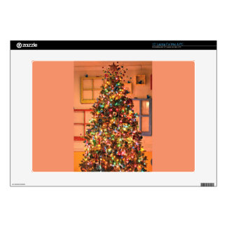 """Christmas Tree Decorating Skin For 15"""" Laptop"""